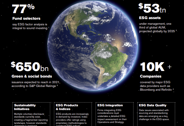 ESG considerations in capital markets